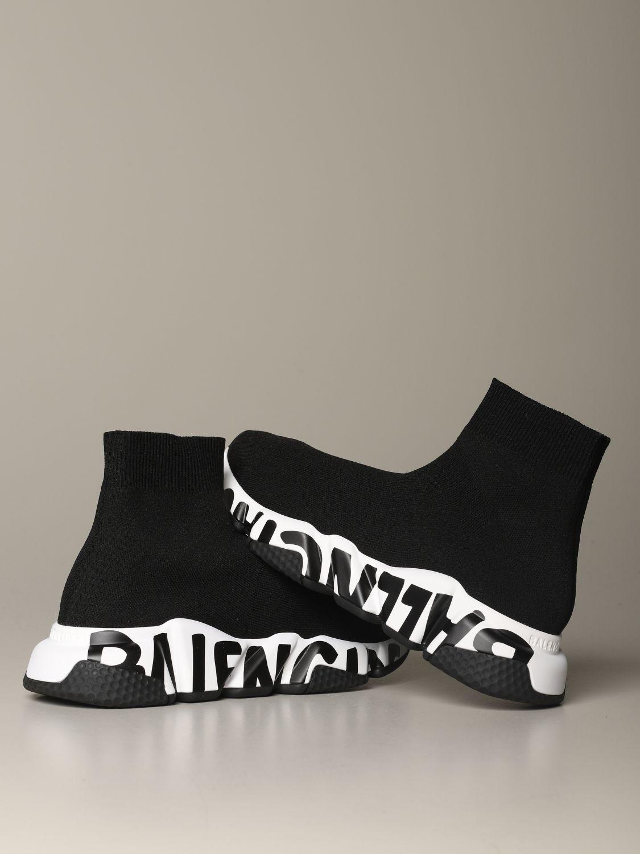 Sneakers Balenciaga: Shoes women Balenciaga black 4