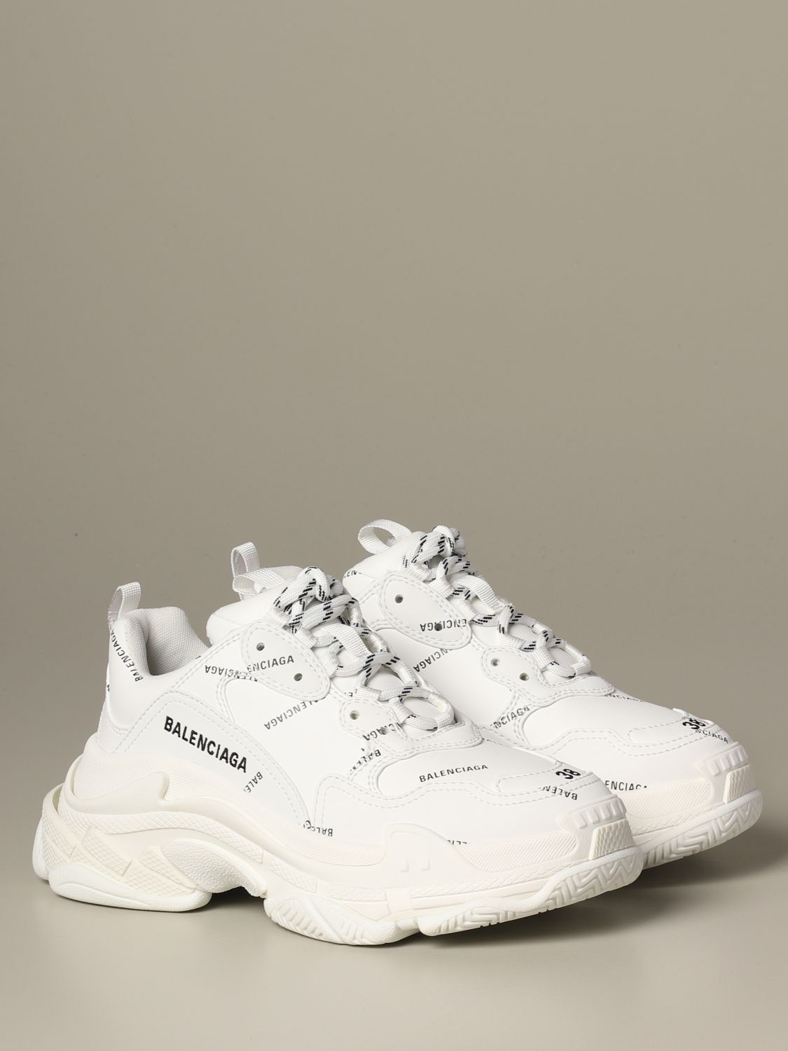 Sneakers Balenciaga: Shoes women Balenciaga white 2