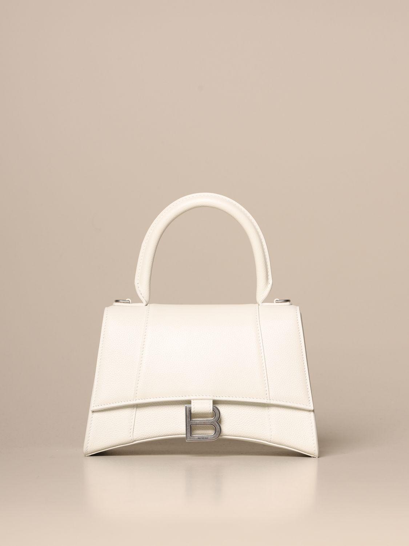 Handbag Balenciaga: Shoulder bag women Balenciaga white 1