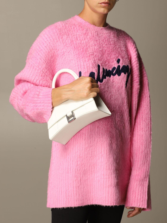 Handbag Balenciaga: Shoulder bag women Balenciaga white 2