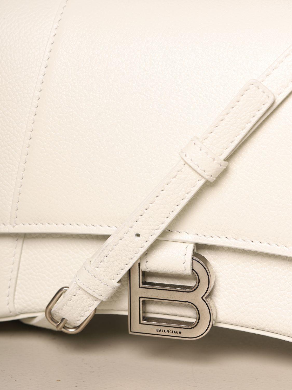 Handbag Balenciaga: Shoulder bag women Balenciaga white 4