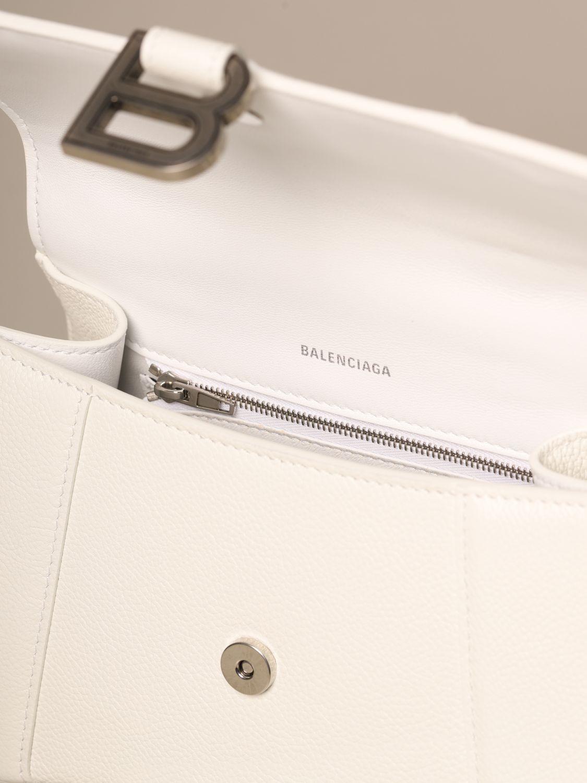 Handbag Balenciaga: Shoulder bag women Balenciaga white 5