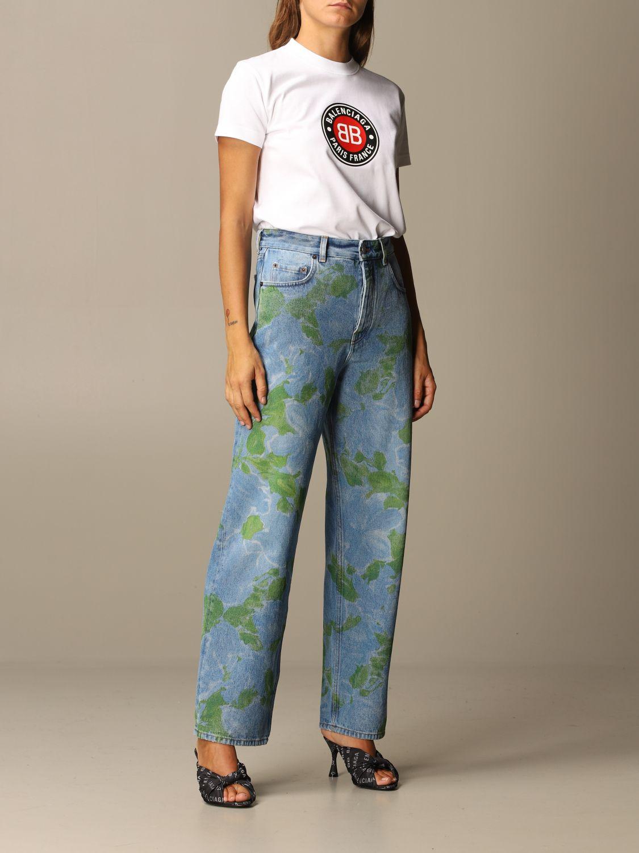Jeans Balenciaga: Jeans women Balenciaga denim 2