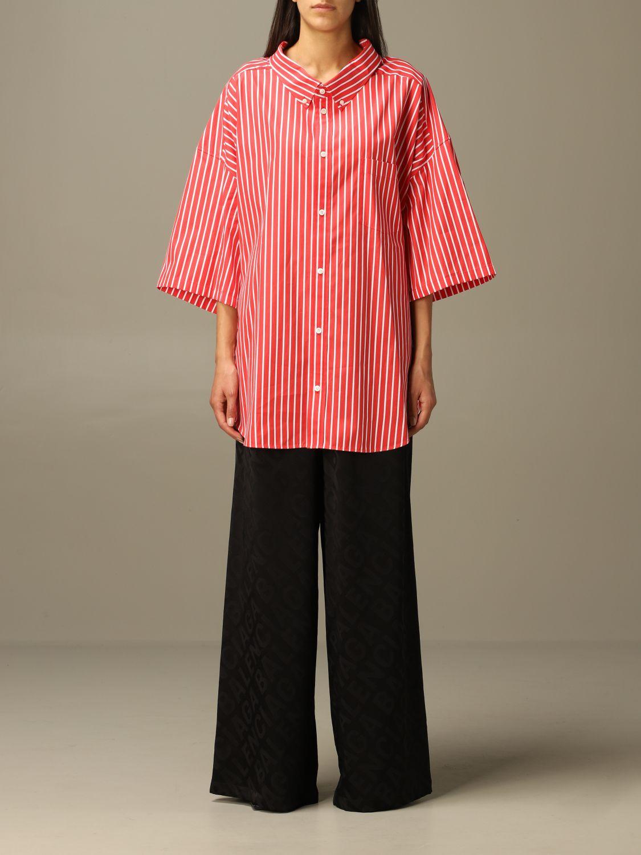 Shirt Balenciaga: Shirt women Balenciaga red 1