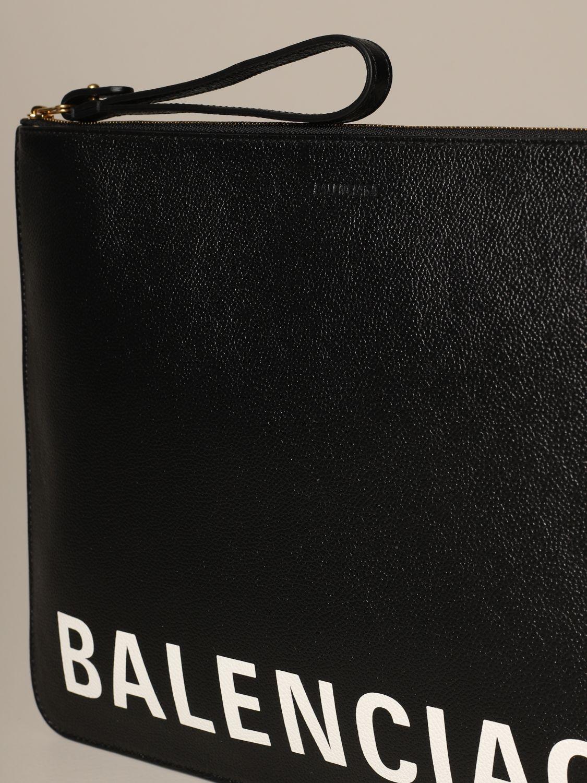 Clutch Balenciaga: Shoulder bag women Balenciaga black 3