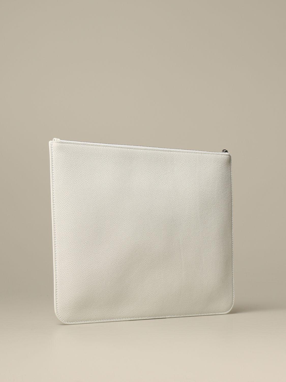 Clutch Balenciaga: Shoulder bag women Balenciaga white 3