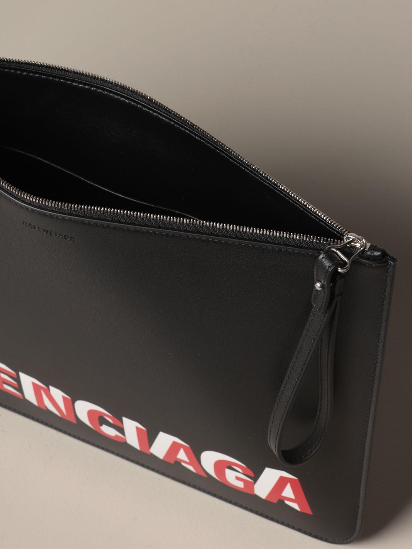 Clutch Balenciaga: Shoulder bag women Balenciaga black 5