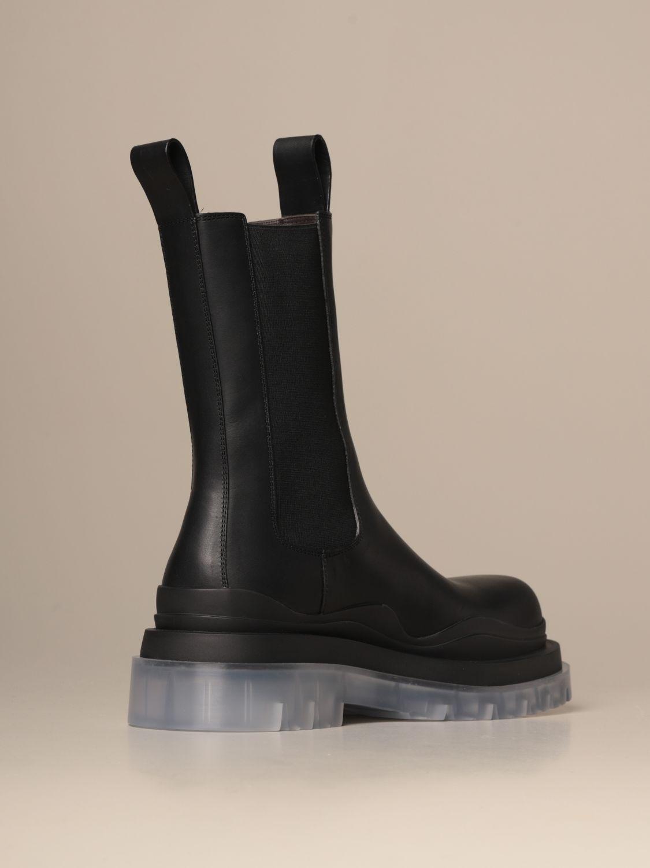 Boots Bottega Veneta: Shoes men Bottega Veneta black 3