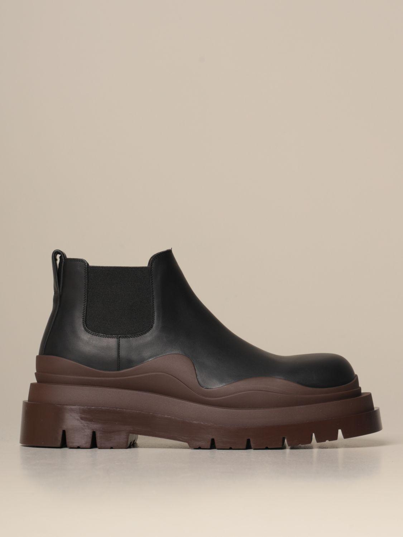 短靴 Bottega Veneta: 鞋 男士 Bottega Veneta 黑色 1