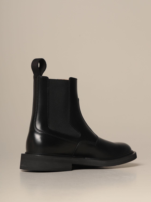 Botas Bottega Veneta: Zapatos hombre Bottega Veneta negro 3