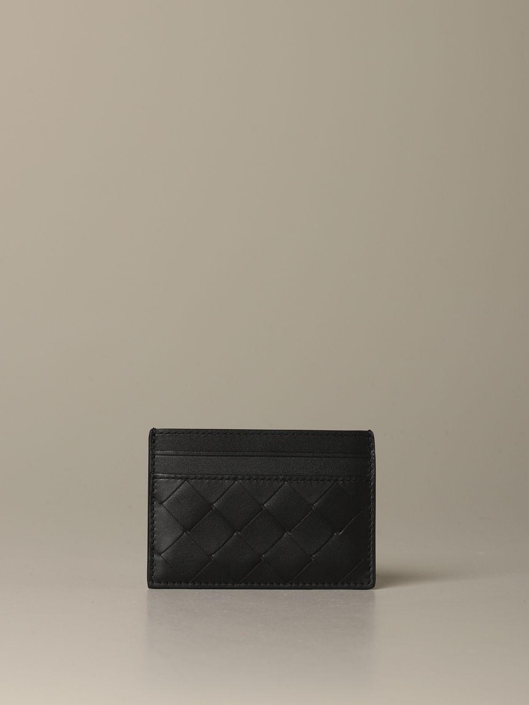 Wallet Bottega Veneta: Wallet men Bottega Veneta black 1
