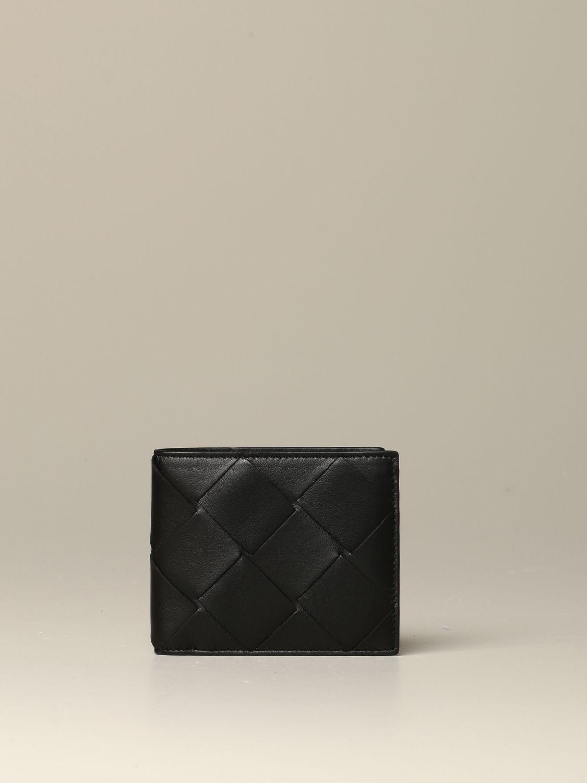 Wallet Bottega Veneta: Bottega Veneta wallet in 3.0 woven leather black 1