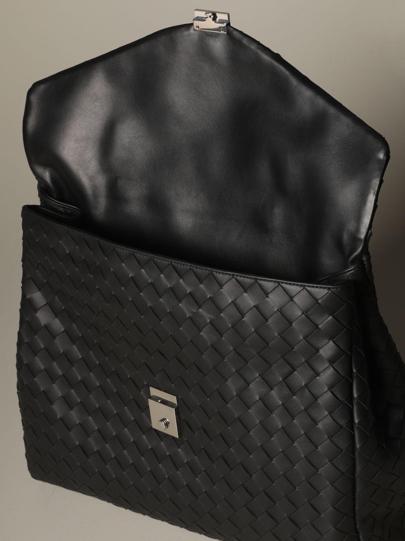 Bags Bottega Veneta: Bottega Veneta work bag in woven leather black 4