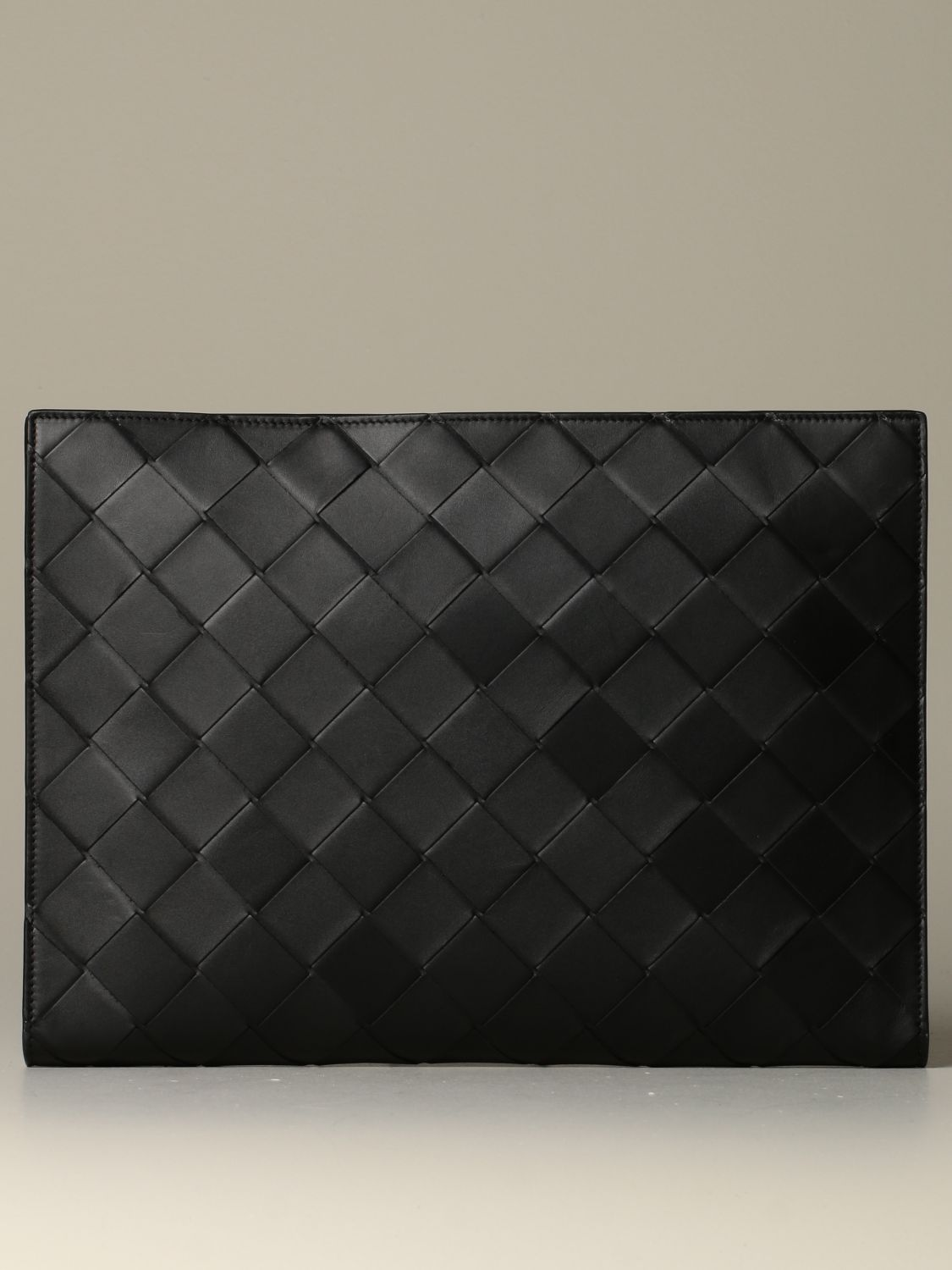 Briefcase Bottega Veneta: Bottega Veneta document holder in 3.0 woven leather black 1