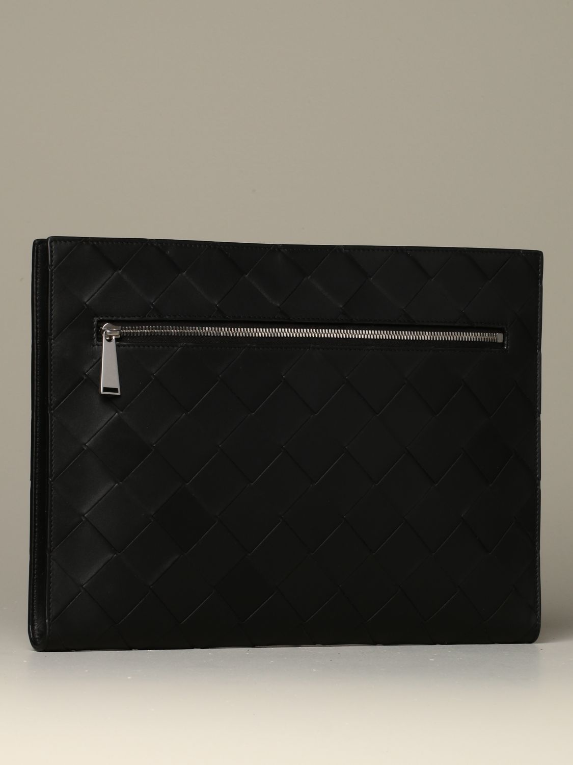 Briefcase Bottega Veneta: Bottega Veneta document holder in 3.0 woven leather black 2