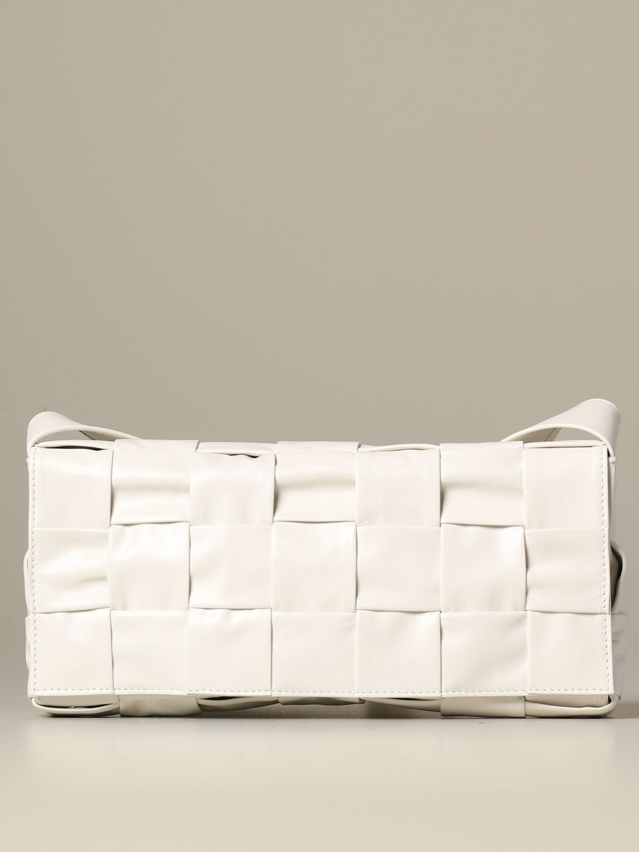Shoulder bag Bottega Veneta: Bags men Bottega Veneta white 1