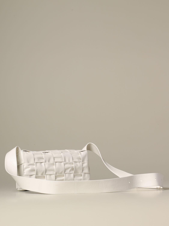 Shoulder bag Bottega Veneta: Bags men Bottega Veneta white 2