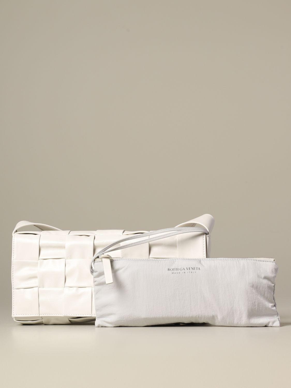 Shoulder bag Bottega Veneta: Bags men Bottega Veneta white 3