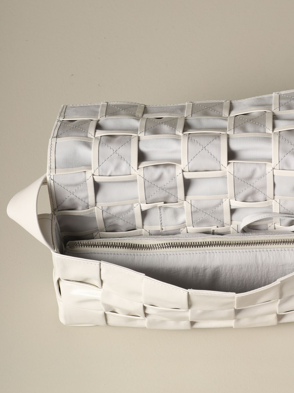 Shoulder bag Bottega Veneta: Bags men Bottega Veneta white 4