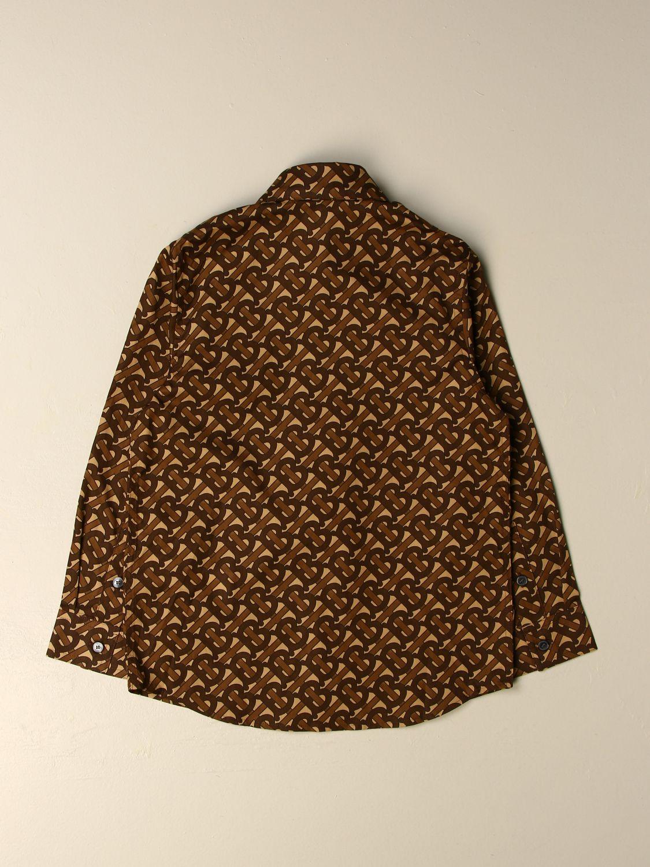 Camisa Burberry: Camisa niños Burberry marrón 2