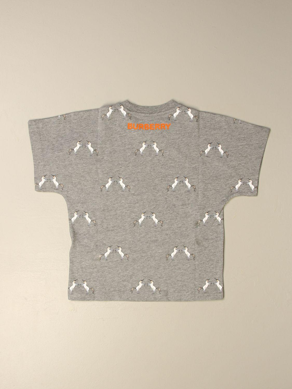 T-shirt Burberry: T-shirt enfant Burberry gris 2