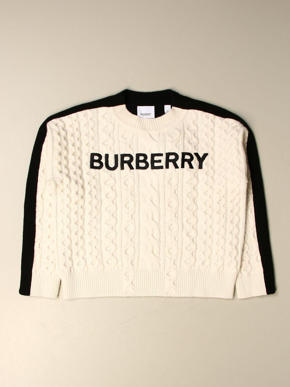 Jersey Burberry: Jersey niños Burberry blanco 1