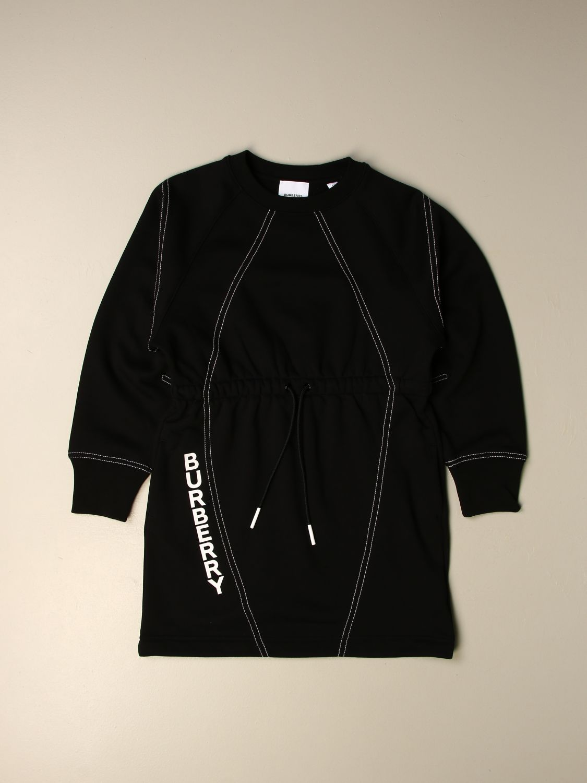 Vestido Burberry: Vestido niños Burberry negro 1