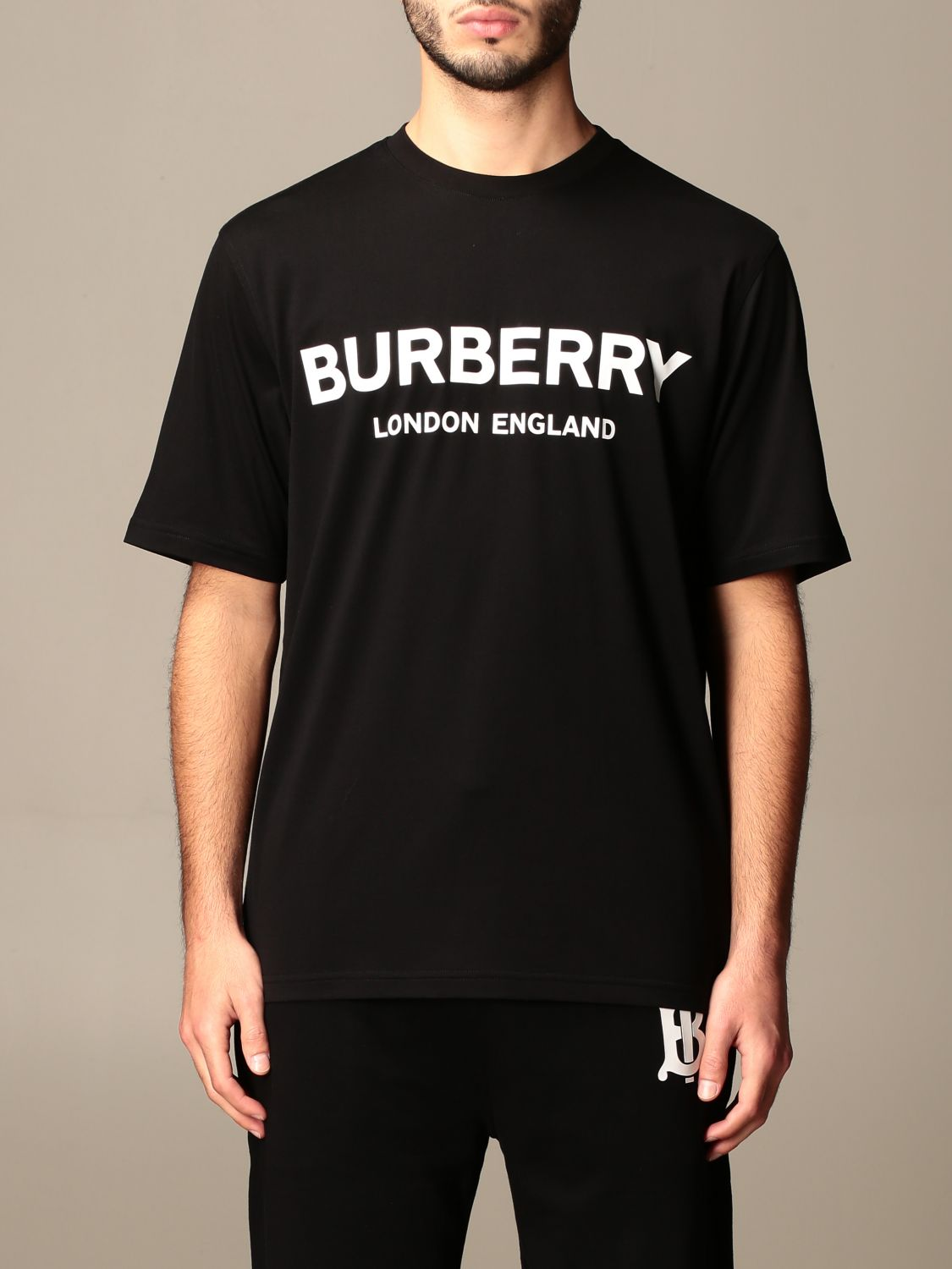 T-shirt Burberry: T-shirt men Burberry black 1