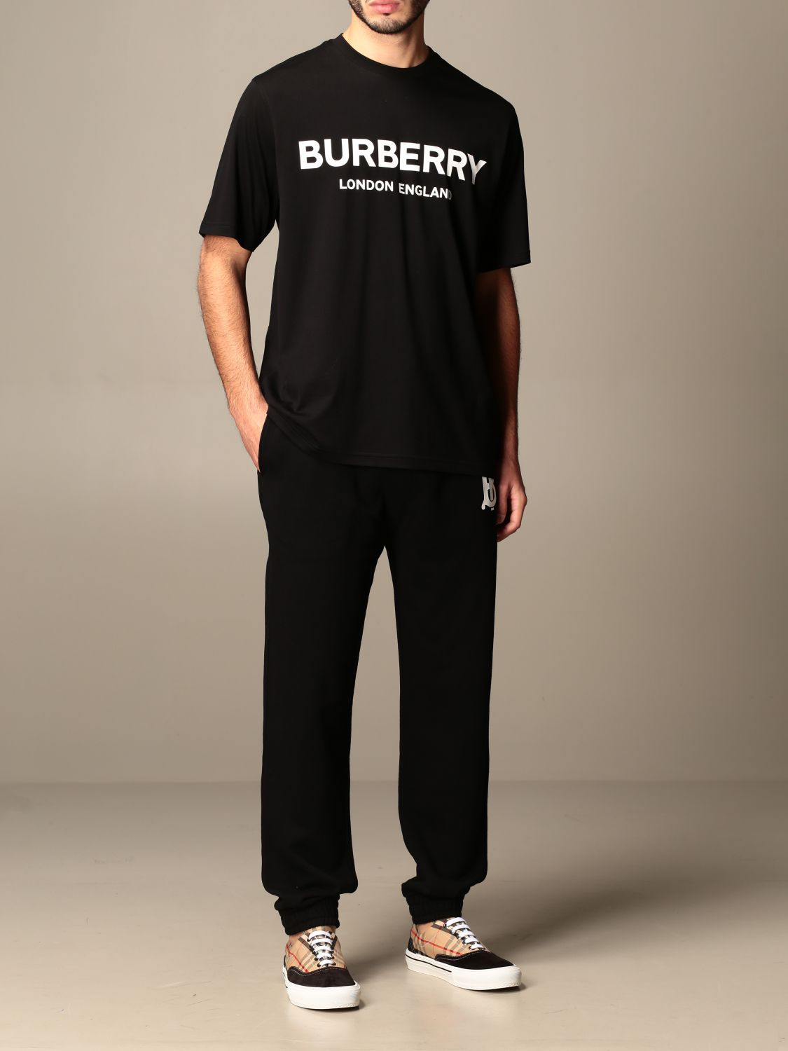 T-shirt Burberry: T-shirt men Burberry black 2