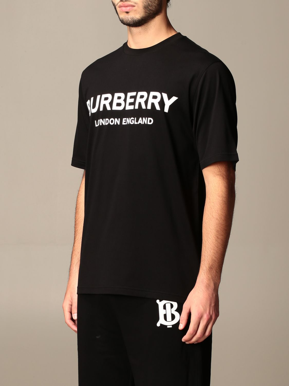 T-shirt Burberry: T-shirt men Burberry black 4