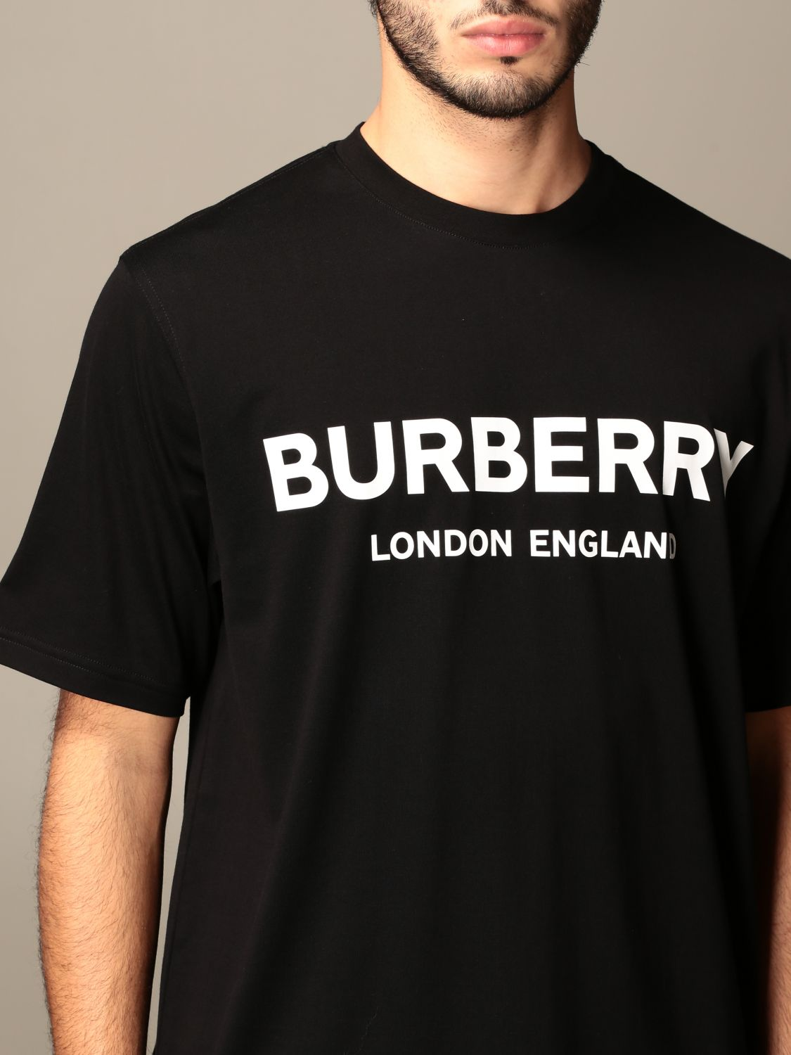 T-shirt Burberry: T-shirt men Burberry black 5