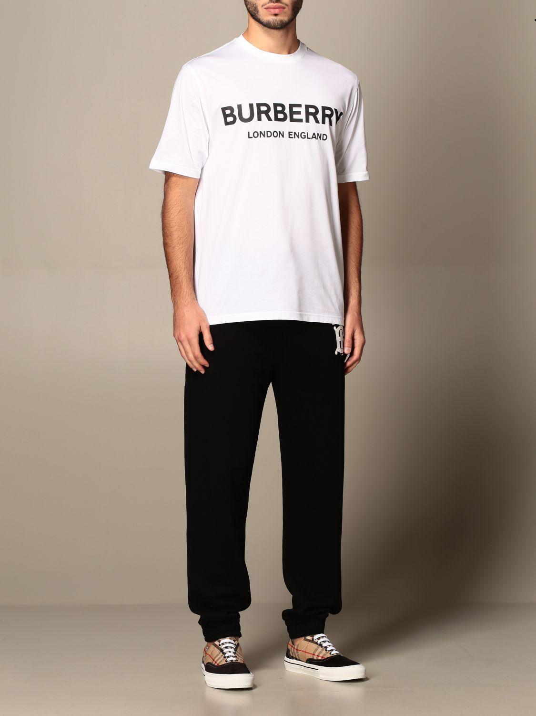T-shirt Burberry: T-shirt men Burberry white 2