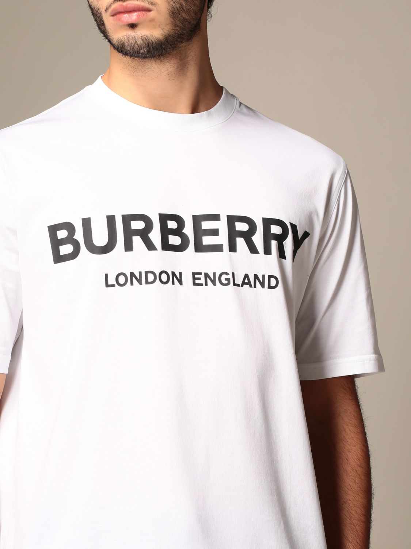 T-shirt Burberry: T-shirt men Burberry white 5