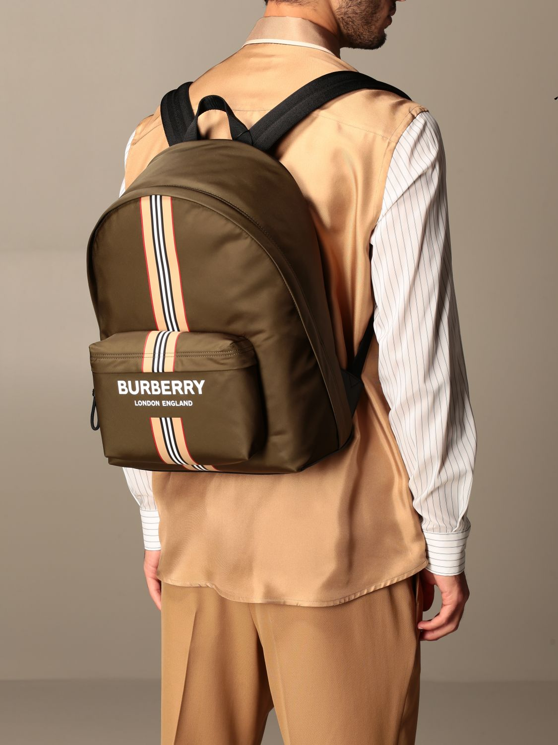 Backpack Burberry: Bags men Burberry military 2