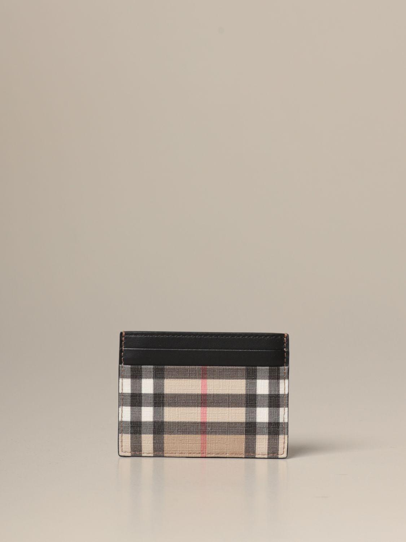 Wallet Burberry: Wallet men Burberry beige 1