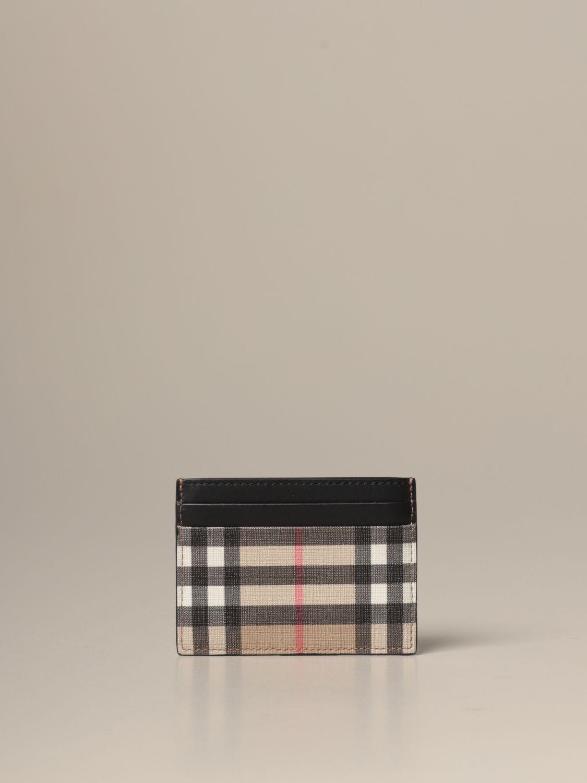 Wallet Burberry: Wallet men Burberry beige 2