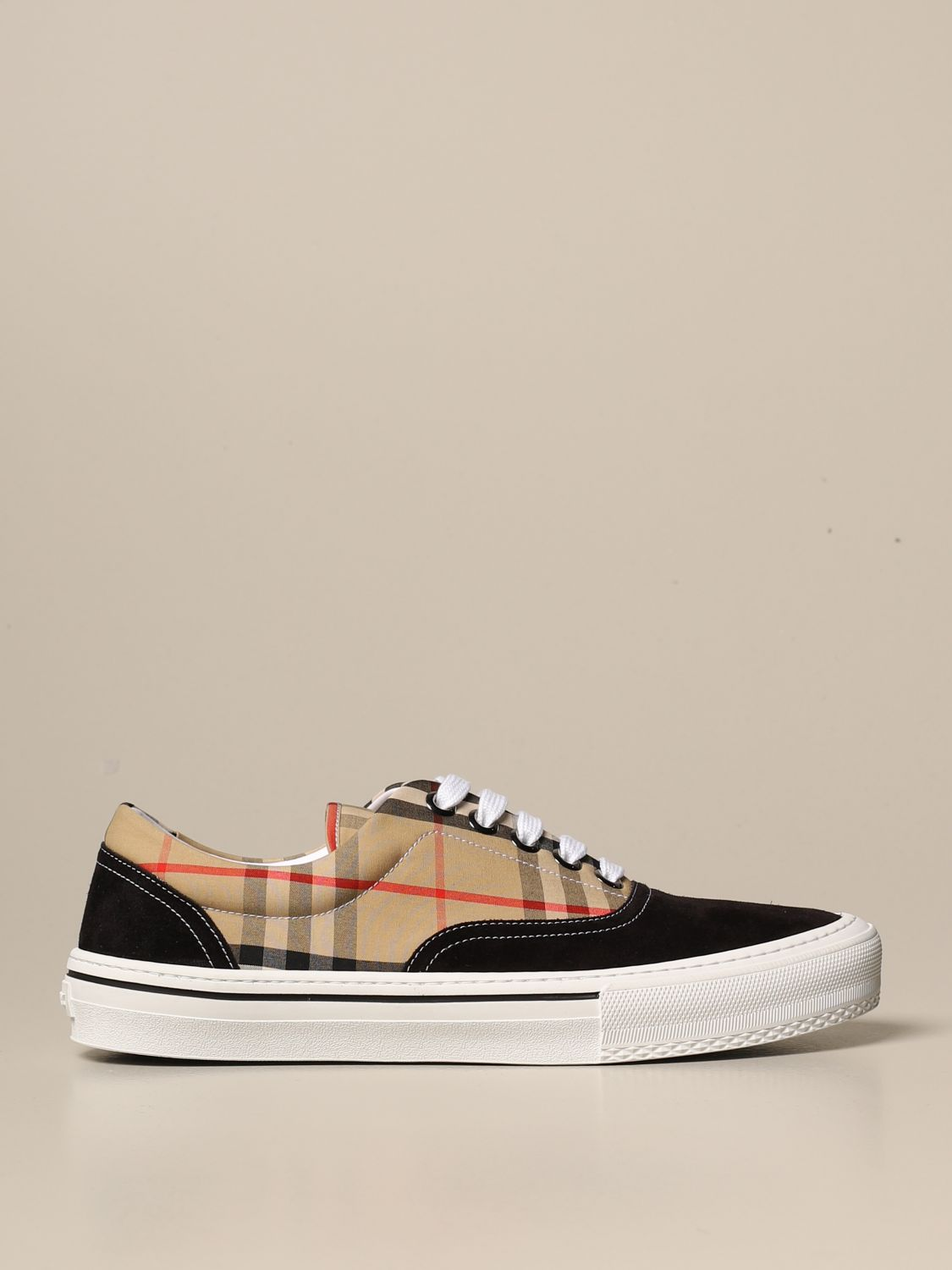 Trainers Burberry: Shoes men Burberry beige 1