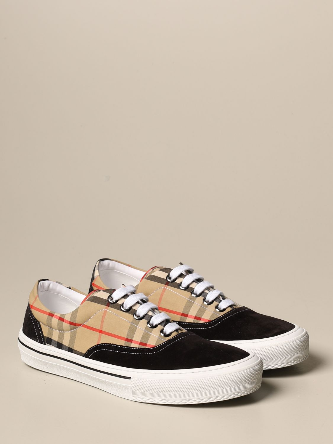 Trainers Burberry: Shoes men Burberry beige 2