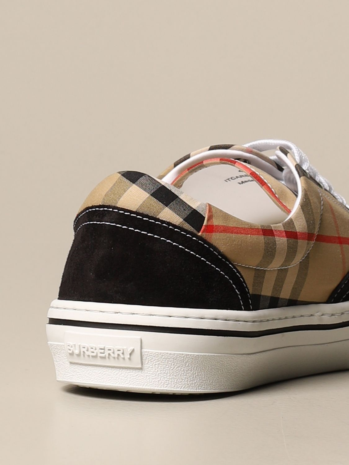 Trainers Burberry: Shoes men Burberry beige 3