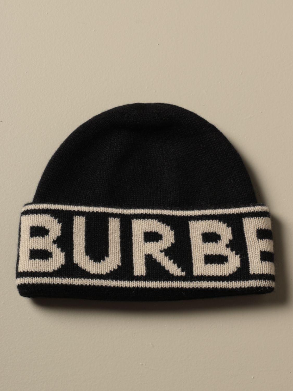 Головной убор Burberry: Головной убор Мужское Burberry черный 1