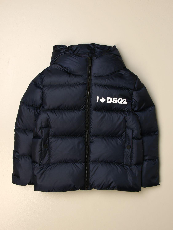Jacket Dsquared2 Junior: Jacket kids Dsquared2 Junior blue 1