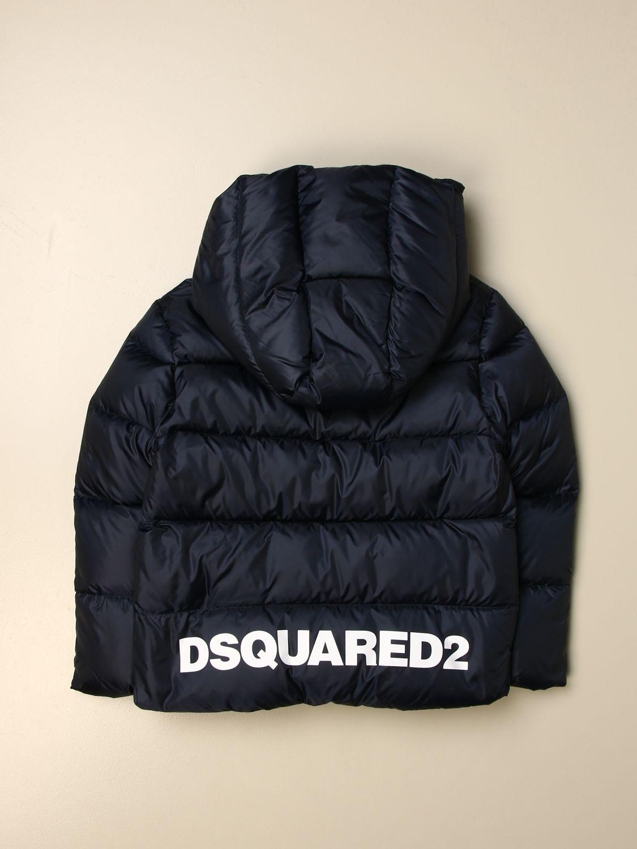 Jacket Dsquared2 Junior: Jacket kids Dsquared2 Junior blue 2
