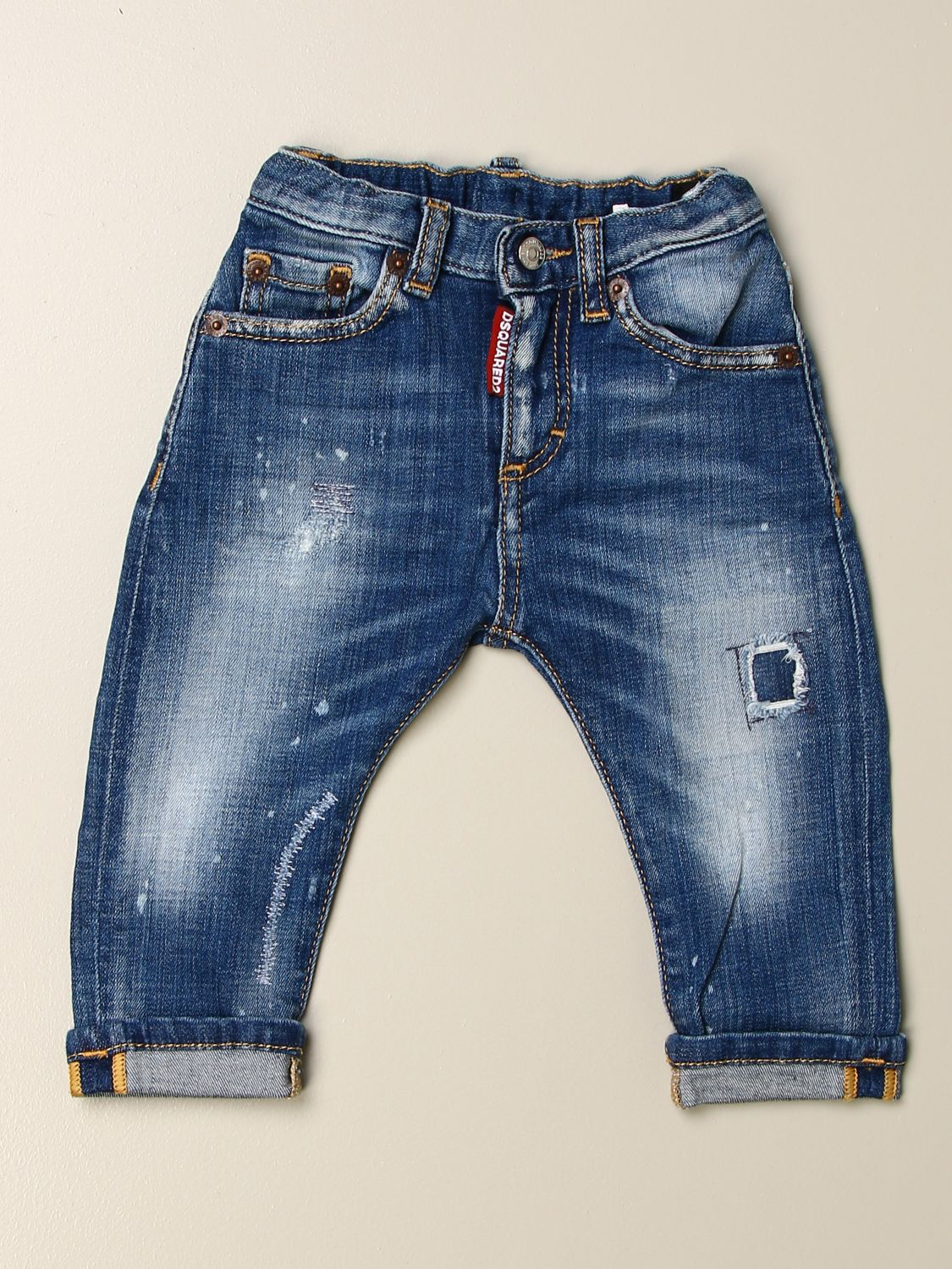 Jeans Dsquared2 Junior: Jeans kids Dsquared2 Junior stone washed 1