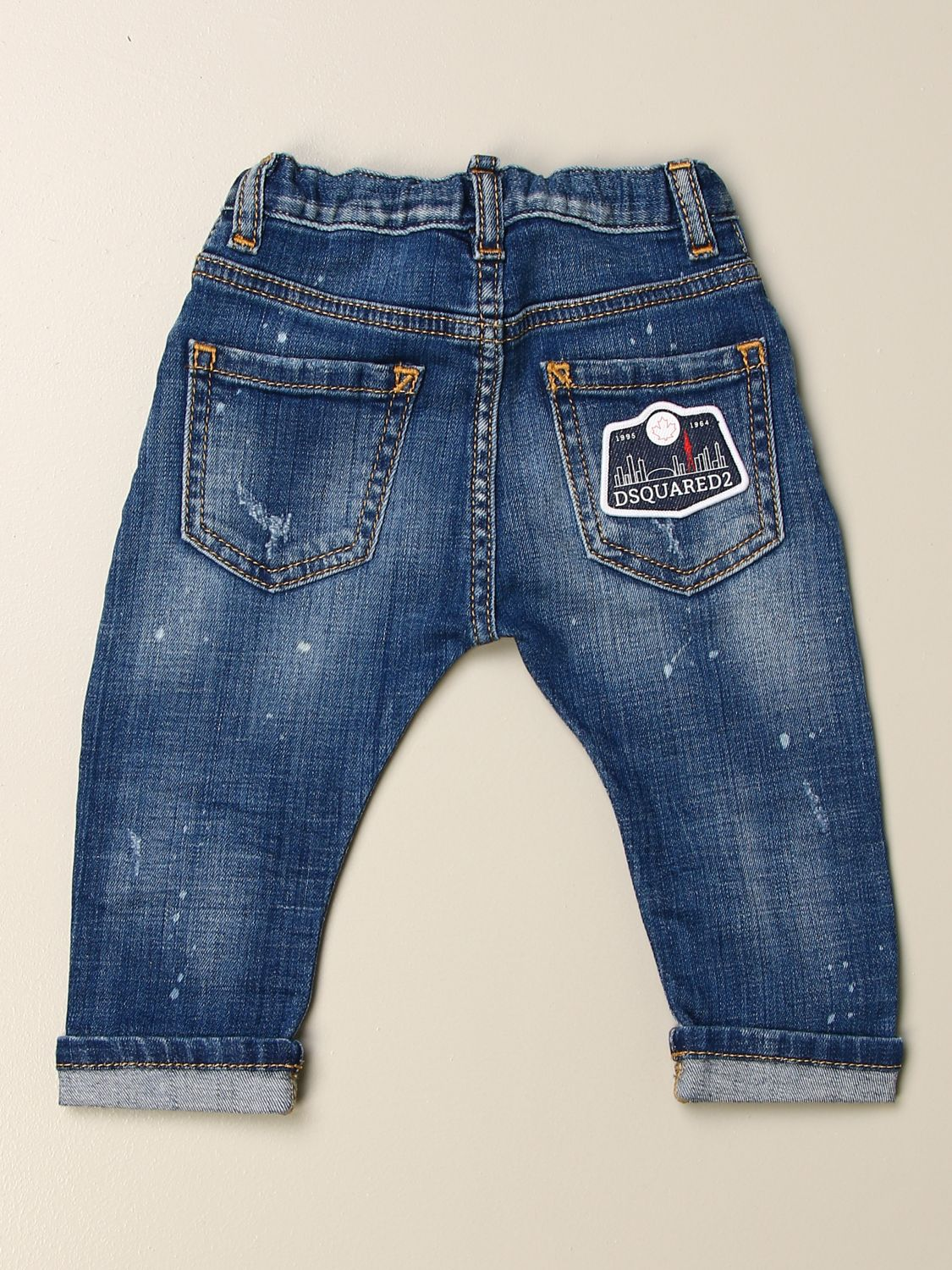 Jeans Dsquared2 Junior: Jeans kids Dsquared2 Junior stone washed 2