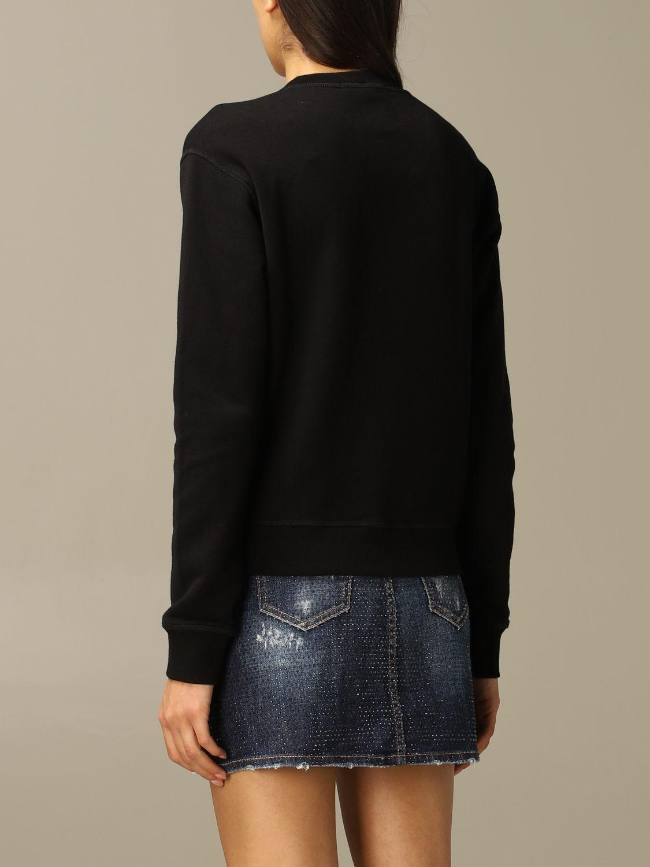 Sweatshirt Dsquared2: Dsquared2 cotton sweatshirt with logo black 3