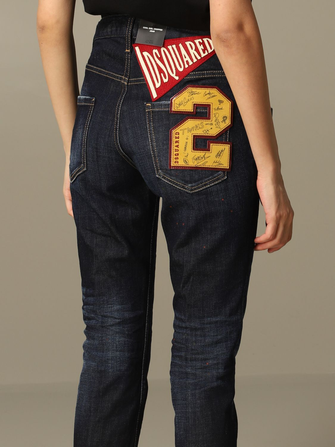 Jeans Mujer Dsquared2 Jeans Dsquared2 Mujer Denim Jeans Dsquared2 S75lb0351 S30664 Giglio Es
