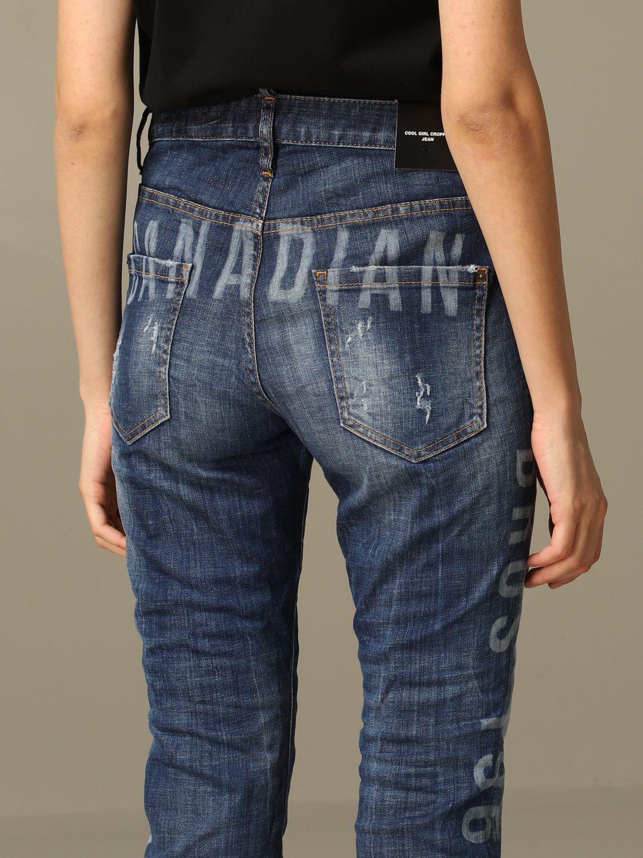 牛仔裤 Dsquared2: 牛仔裤 女士 Dsquared2 牛仔布 5