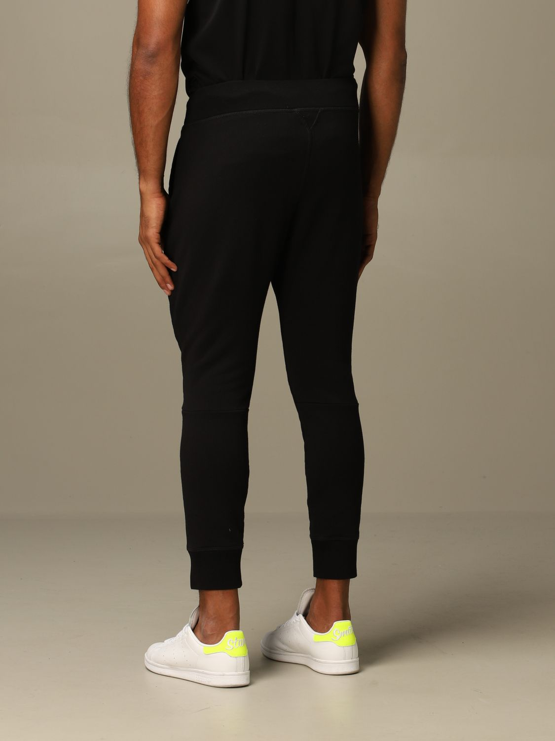 Pants Dsquared2: Icon Dsquared2 jogging trousers with logo black 3