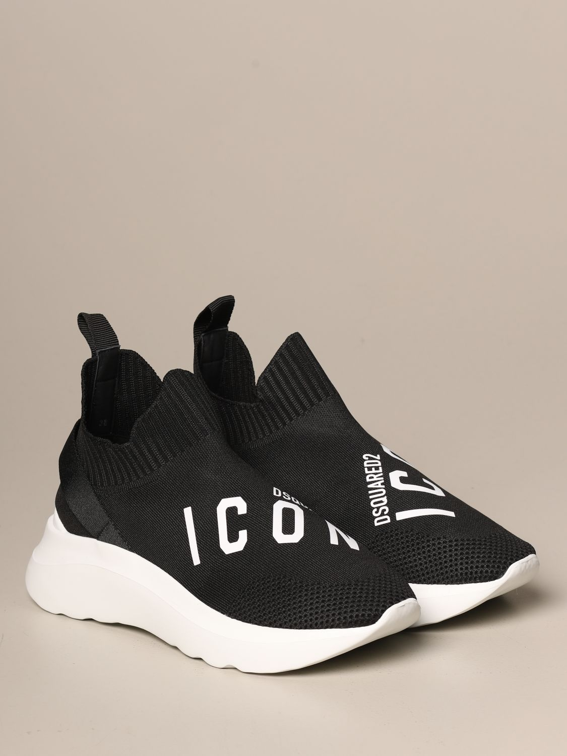 Dsquared2 sneakers in technical fabric