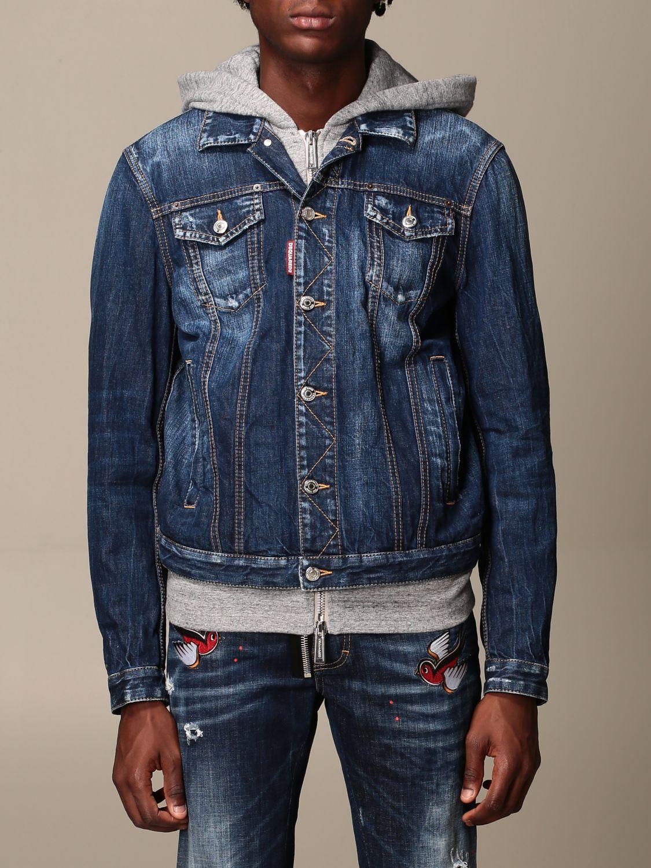 Jacket Dsquared2: Jacket men Dsquared2 denim 1